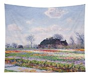 Tulip Fields At Sassenheim Tapestry