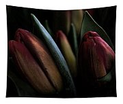 Tulip Grunge Tapestry