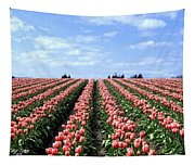Tulip Town 12 Tapestry