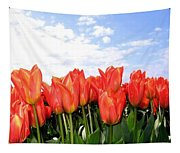 Tulip Town 17 Tapestry
