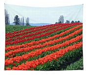 Tulip Town 18 Tapestry