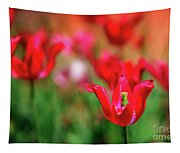 Tulips At Honor Heights Tapestry