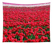 Tulips By The Million Tapestry