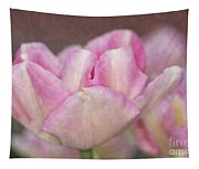 Tulips With Texture Tapestry