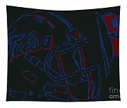 Tulsa Hurricane Football Tapestry