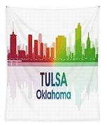 Tulsa Ok 1 Vertical Tapestry