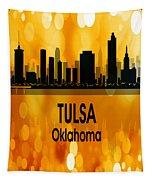 Tulsa Ok 3 Vertical Tapestry