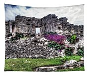 Tulum Temple Ruins No.2 Tapestry