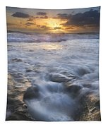 Tumbling Surf Tapestry