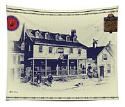 Tun Tavern - Birthplace Of The Marine Corps Tapestry