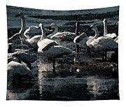 Tundra Swans Tapestry