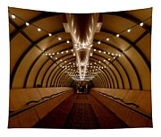Tunnel Abstract Tapestry