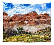 Tunnel Arch Trail View Tapestry