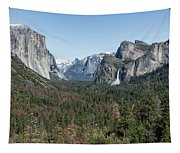 Tunnel View Of Yosemite During Spring Tapestry