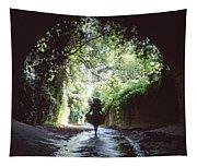 Tunnel Walk Tapestry