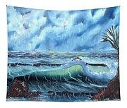 Turbulent Sea Tapestry