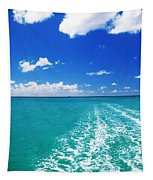 Turquoise Ocean Tapestry