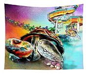 Turtle Slide Tapestry