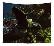 Turtle Wave Tapestry