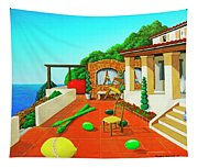 Tuscan Vacation Tapestry