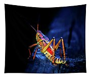 Twilight Grasshopper Tapestry