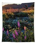 Twilight Lupine Tapestry