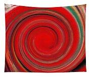 Twirl Red-0951 Tapestry
