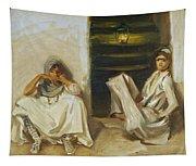 Two Arab Women Tapestry