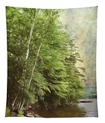 Two Birches Tapestry