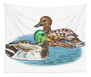 Two Ducks Tapestry