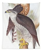 Two Goshawks Tapestry