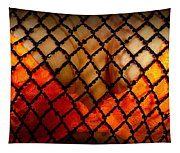 Two Handfuls Of Oranges Tapestry