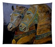 Two Horses  Tapestry