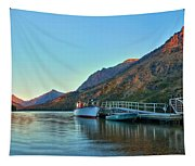 Two Medicine Boat Dock Tapestry