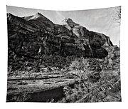 Two Peaks - Bw Tapestry
