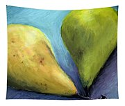 Two Pears Still Life Tapestry