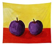 Two Plums Tapestry