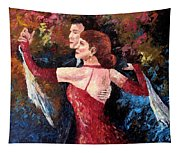 Two To Tango Tapestry