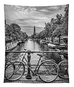 Typical Amsterdam - Monochrome Tapestry