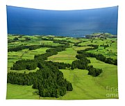 Typical Azores Islands Landscape Tapestry