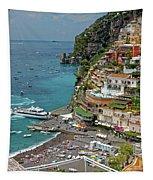 Tyrrhenian Sea Amalfi Coast Tapestry