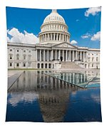 U S Capitol East Front Tapestry