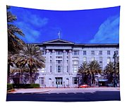 U S Custom House - New Orleans Tapestry