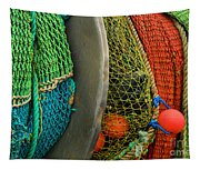 Ucluelet Fishing Nets Tapestry