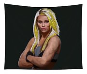 Ufc Fighter Paige Van Zant Tapestry