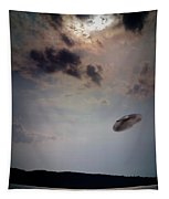 Ufo Over Lake Superior Tapestry
