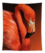 Ultimate Orange Tapestry
