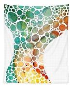 Ultra Modern Art - Colorforms 2 - Sharon Cummings Tapestry