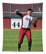 Umass Outfielder 4 Tapestry
