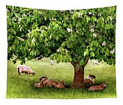 Umbrella Tree Tapestry